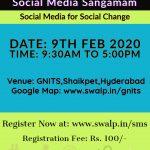 Social Media Sangamam -9th Feb 2020